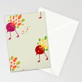 birds of PD Stationery Cards