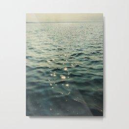 Stars on the Sea Metal Print