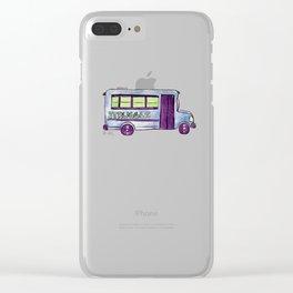Struggle Bus Clear iPhone Case