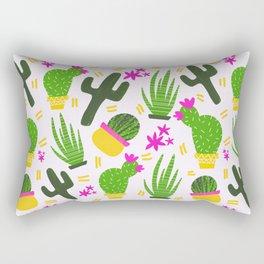 Cactus Pattern of Succulents Rectangular Pillow