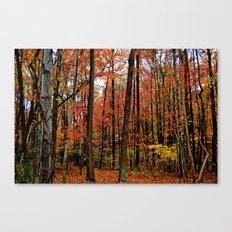 Sometimes the Trees Scream Canvas Print