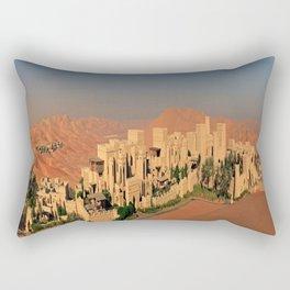 Qasr Al Sarab Desert Resort in Abu Dhabi Rectangular Pillow