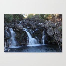 Waterfall New Zealand Canvas Print