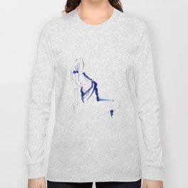 ...In a Blue Dress Long Sleeve T-shirt