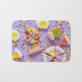 Pastel Rainbow Candy Bath Mat