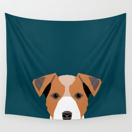 Bailey - Jack Russell Terrier phone case art print gift for dog people Jack Russell Terrier owners Wall Tapestry