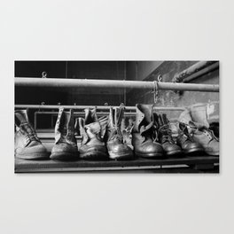Its quitting time! Canvas Print