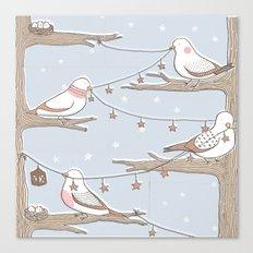 Birdies Canvas Print