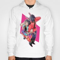 yaoi Hoodies featuring 80s Fashion by kami dog