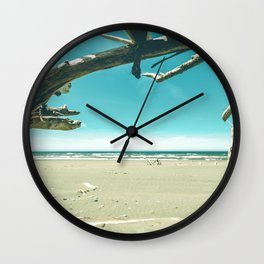 Drift Wood Castle Wall Clock