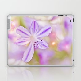 Summer dance - macro  floral photography Laptop & iPad Skin
