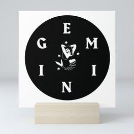 MACKLEMORE GEMINI ROUND Mini Art Print