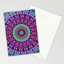 Pretty Gravel Mandala Stationery Cards