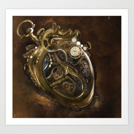 The Clockwork Music - fig.5 Art Print