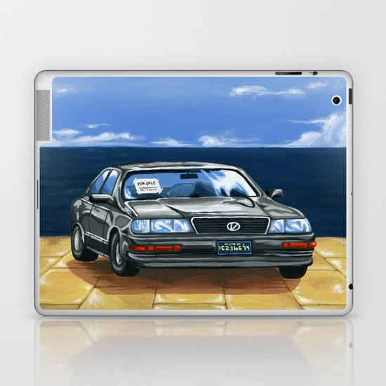 Street Fighter II Bonus Stage Car Laptop & iPad Skin