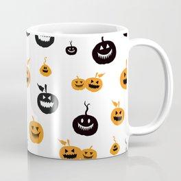 Spooky pumpkins background Coffee Mug