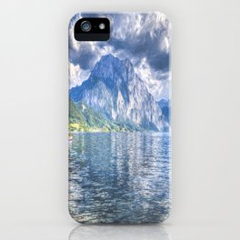 Austrian Lake Art iPhone Case