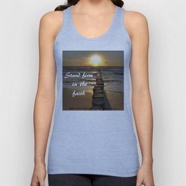 STAND FIRM IN THE FAITH Unisex Tank Top