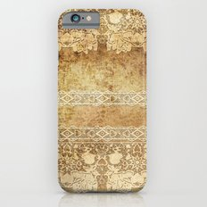 Vintage. The old lace. Vintage fabric . iPhone 6s Slim Case