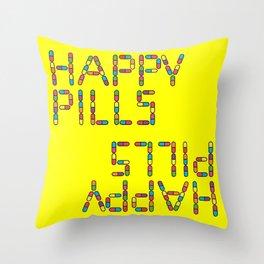 Happy Pills - Nurse Jackie Throw Pillow