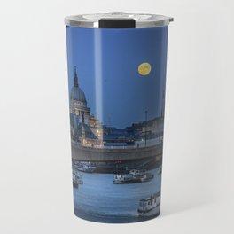 Full Moon in London Travel Mug