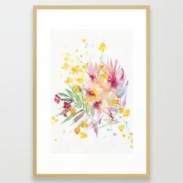 fiori I Framed Art Print