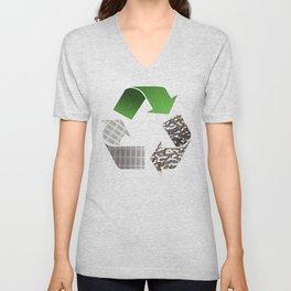Recycle Unisex V-Neck
