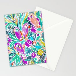 PARROT PARTY Stationery Cards