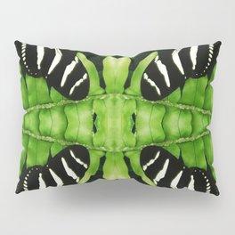 Zebra Butterfly Pillow Sham