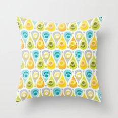 Funky Summer Throw Pillow
