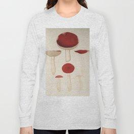 Naturalist Mushrooms Long Sleeve T-shirt