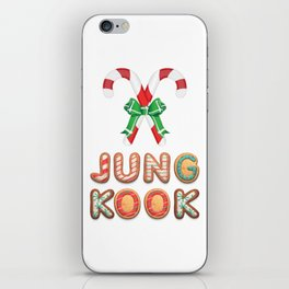 BTS Jungkook: Happy Christmas! iPhone Skin