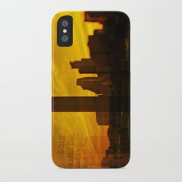 golden minneapolis iPhone Case