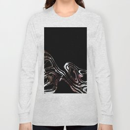 black marble xcv Long Sleeve T-shirt