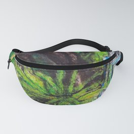 Birdcage in the California garden Fanny Pack