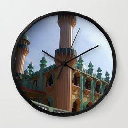Beachside Mosque Varkala Wall Clock