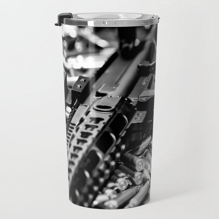 AR-15 Rifle Travel Mug