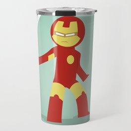 The most philanthropist of the Avenger: Little Iron Man Travel Mug