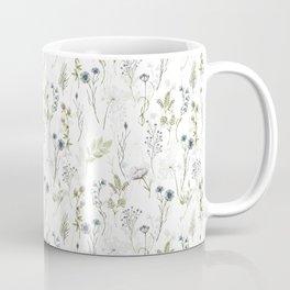Wildflowers Meadow Botanical Flower Garden  Coffee Mug