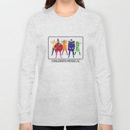 Human Vegetables Long Sleeve T-shirt