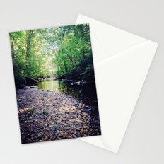peace in the forest Stationery Cards