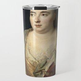 Nicolas de Largillire - Marie Anne Mancini, duchesse of Bouillon Travel Mug