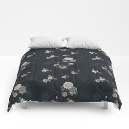 Ghost Roses Comforters