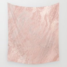 Rose Gold Foil Wall Tapestry