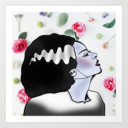Bride of Floralstein Art Print