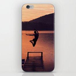 Jump! iPhone Skin