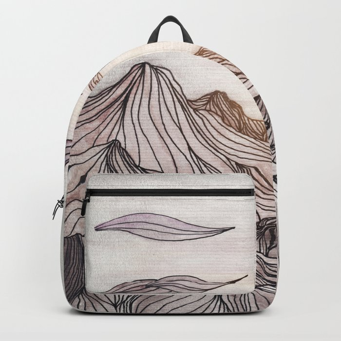 Lines in the mountains Backpack