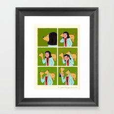 Con-fusion Framed Art Print