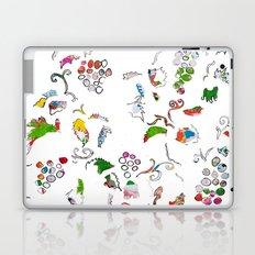 Grape bubbles Laptop & iPad Skin