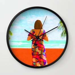 Shall I Compare Thee To A Summer's Day? Wall Clock
